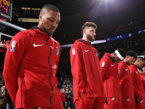 Trail Blazers Clinch Playoffs But Lose Nurkic To Injury