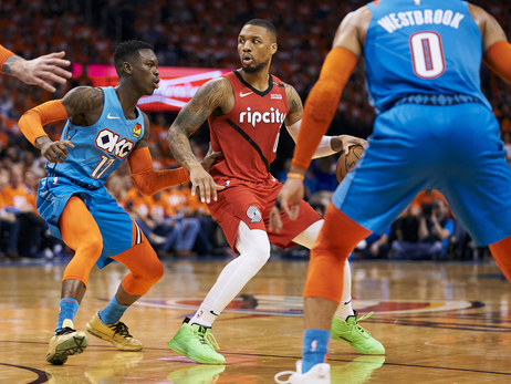 Lillard's Third Quarter Can't Overcome Fouls, Turnovers in Game Three Loss In Oklahoma City
