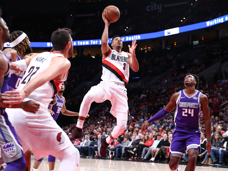 Blazers Finish Preseason By Sneaking Past Kings
