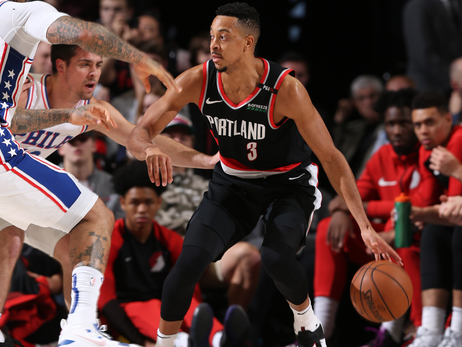 Trail Blazers Finish 2018 By Routing 76ers
