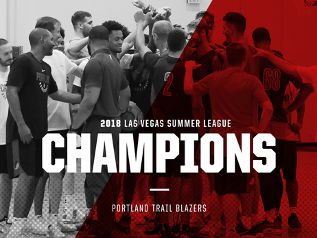 Blazers Down Lakers To Win 2018 Las Vegas Summer League Tournament Championship