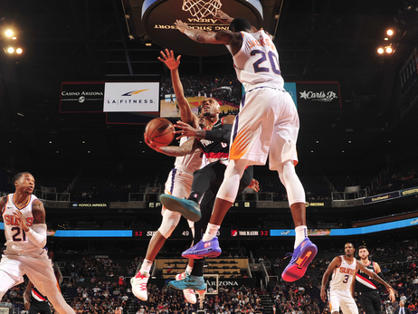 Trail Blazers And Suns Meet Again In Preseason Play
