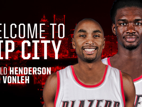 Trail Blazers Acquire Noah Vonleh and Gerald Henderson from Charlotte