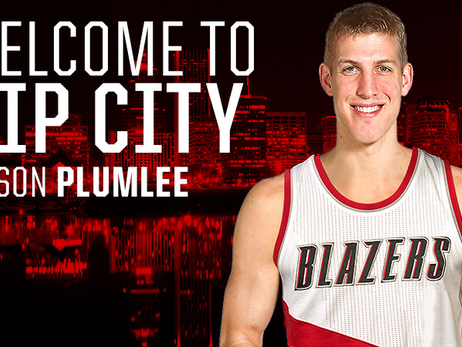 Trail Blazers Acquire Mason Plumlee, Draft Rights to Pat Connaughton from Brooklyn