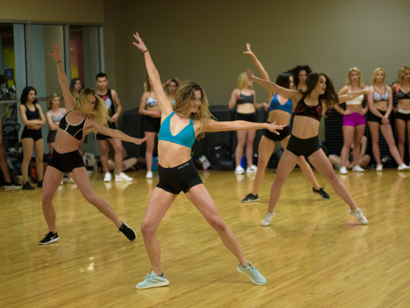 PHOTOS » BlazerDancers Pre-Audition Workshop
