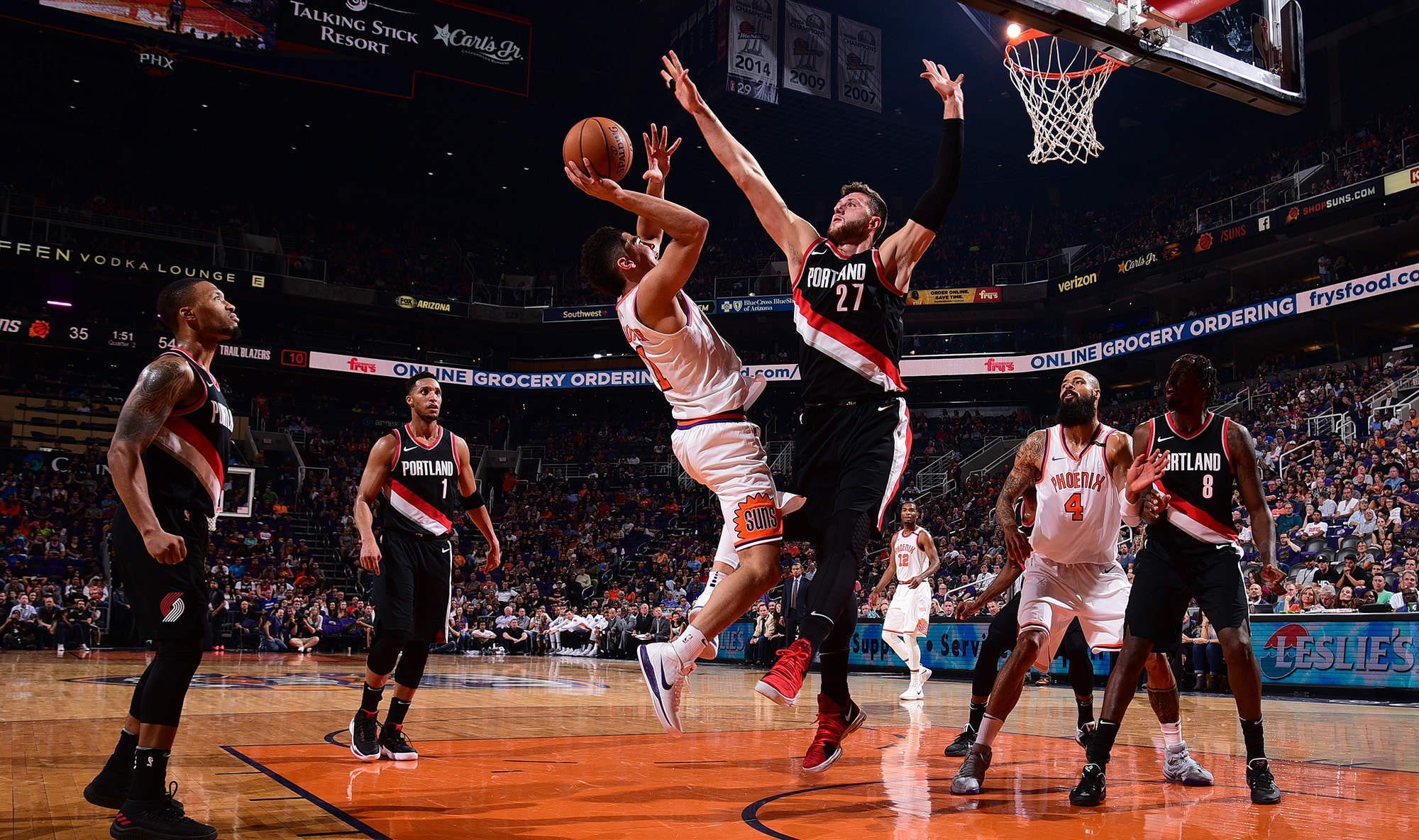 Blazers Post Largest Opening Night Margin Of Victory In NBA History Versus Suns