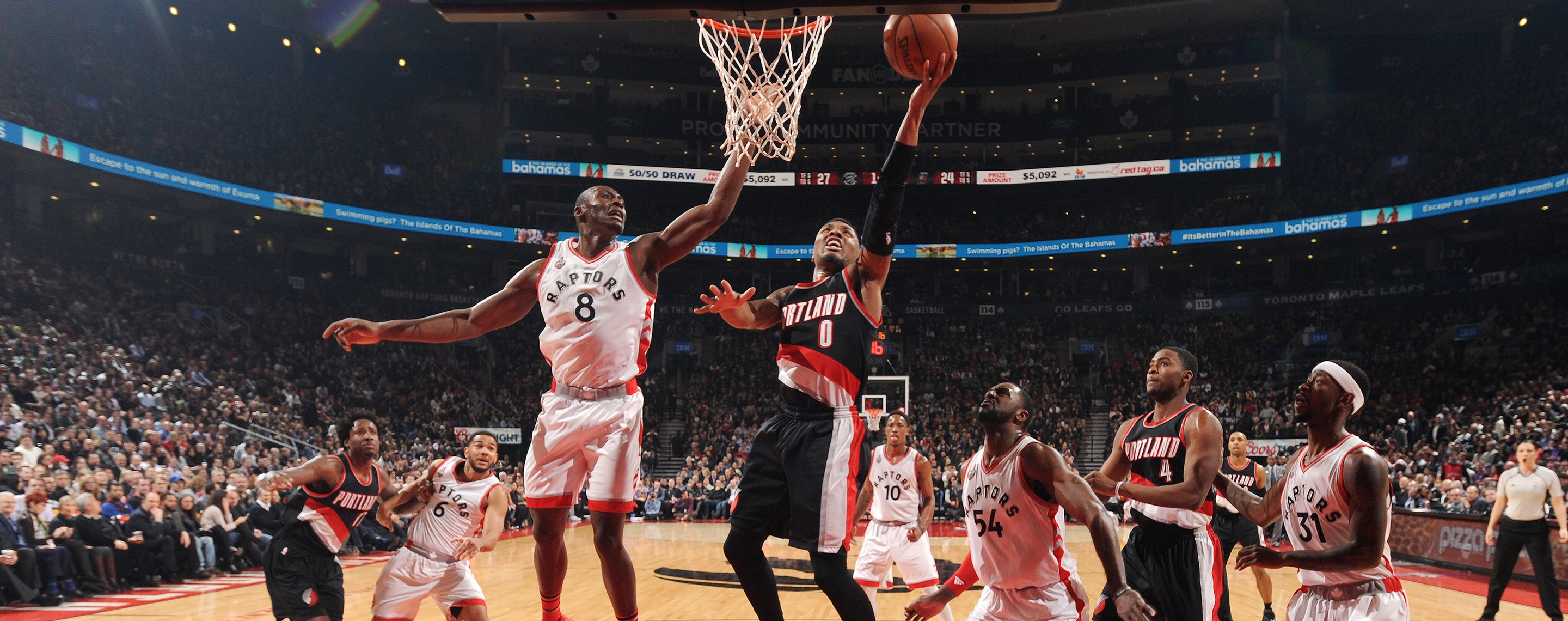 Trail Blazers Go Cold For Just Long Enough To Lose In Toronto