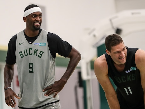 In Photos: Bucks Prepare For Lakers