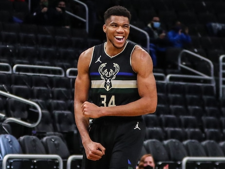 Giannis Antetokounmpo Named Eastern Conference Player of the Week