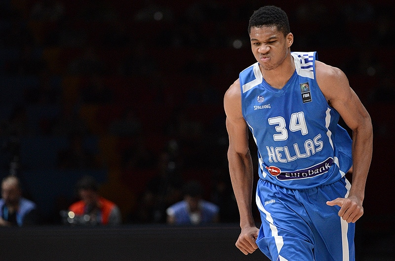 Image result for giannis antetokounmpo greece national team