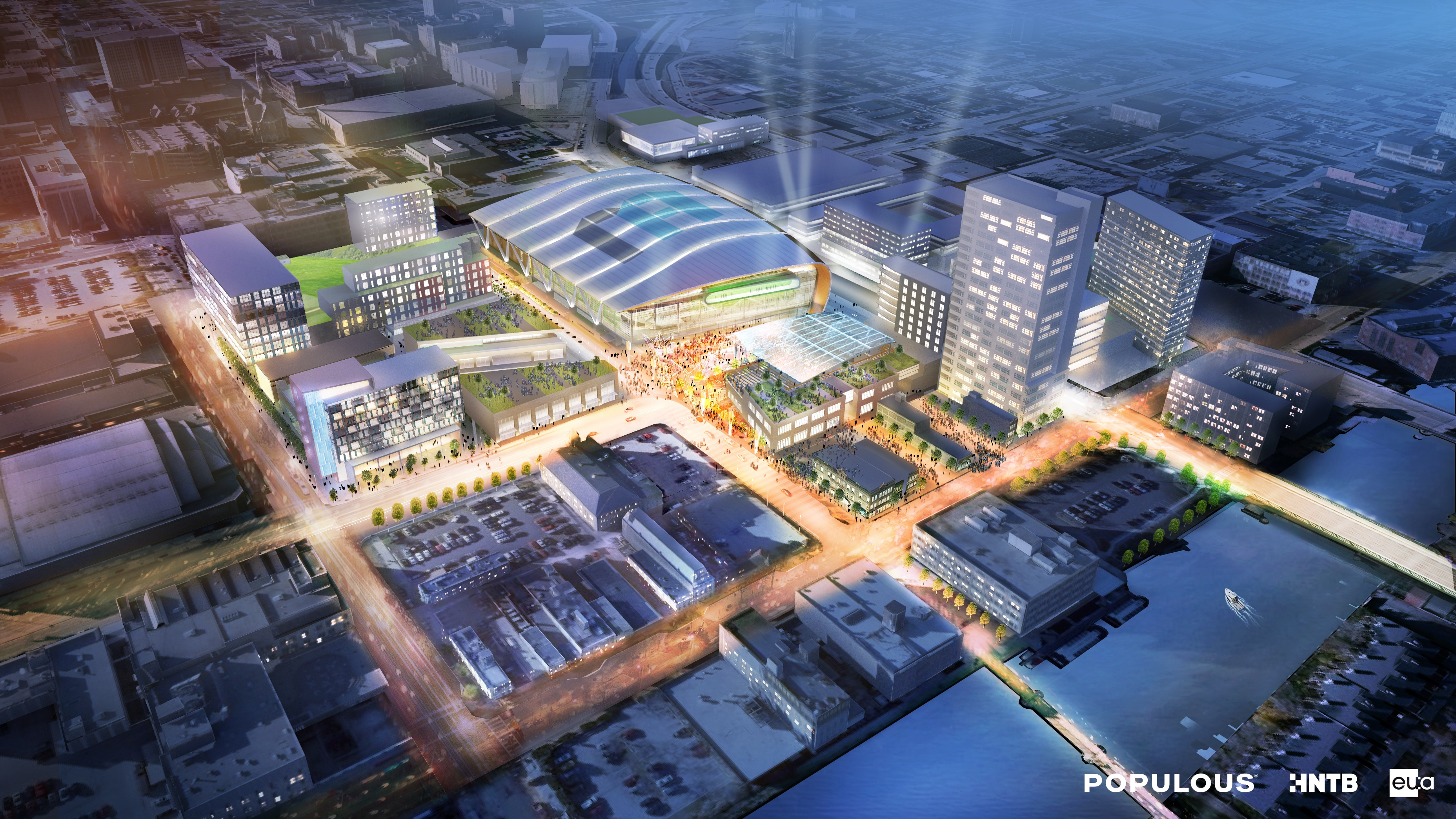 Preliminary Renderings Of Downtown Milwaukee Master