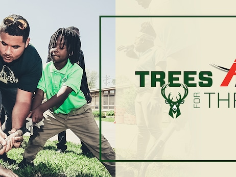 American Transmission Co. to Donate 510 Trees as Part of Milwaukee Bucks' Trees for Threes Program