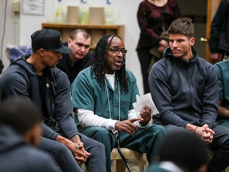 In Photos: Bucks, REPRESENT JUSTICE & Incarcerated Individuals Conversation