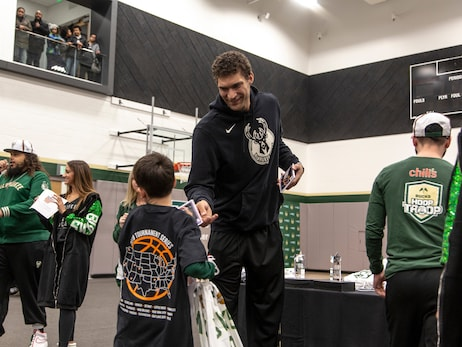 Bucks Host Statewide Wisconsin NBA Math Hoops Powered By GE Healthcare
