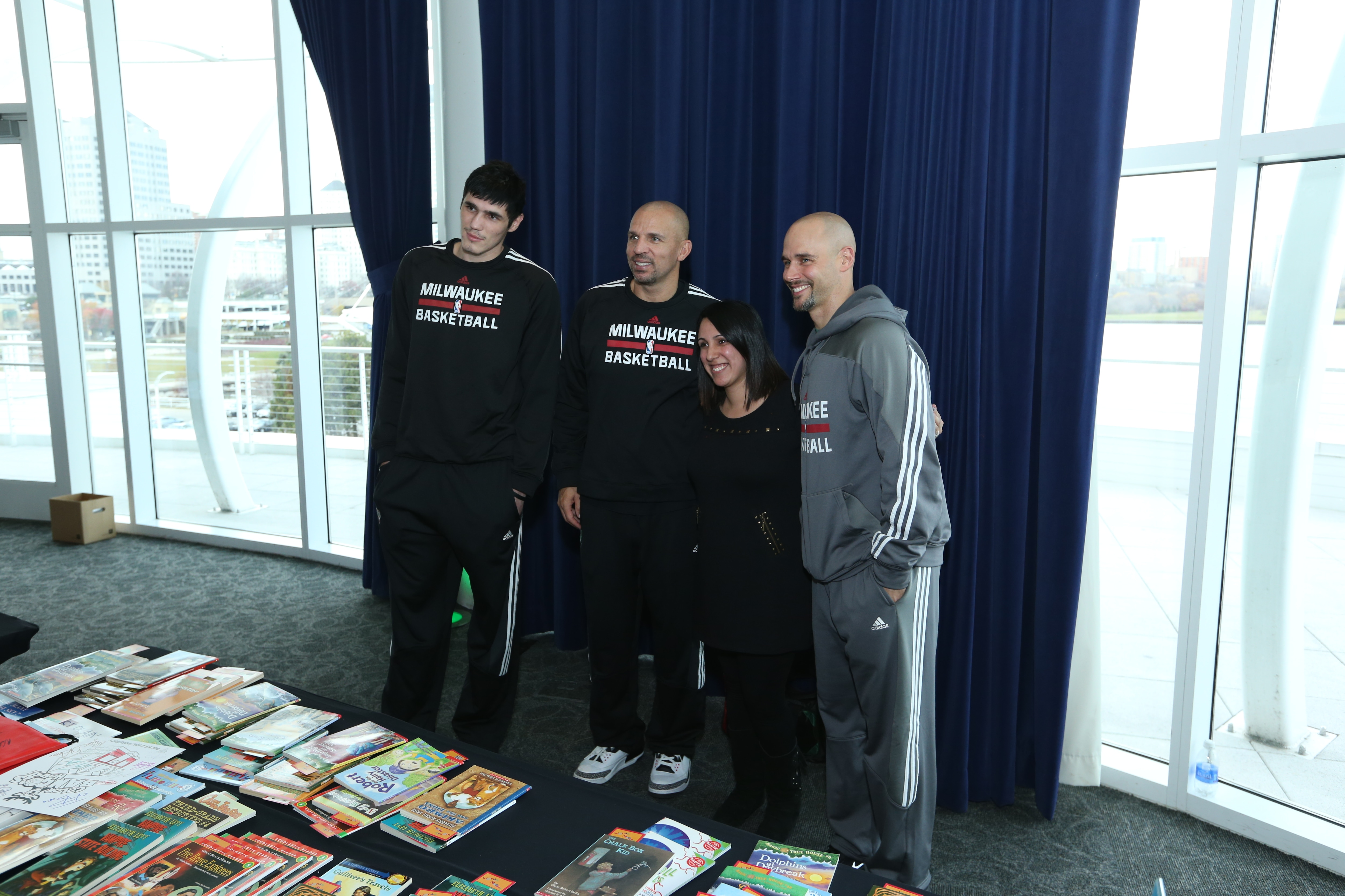 Bucks Host 17th Annual Sam's Hope Reading Rally