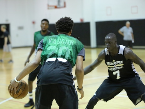 Bucks Summer League Practice: Day Two