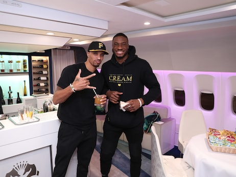 In Photos: Bucks Depart For Paris