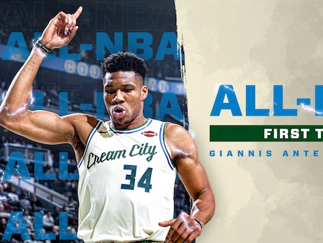 Giannis Antetokounmpo Selected to 2019-20 All-NBA First Team