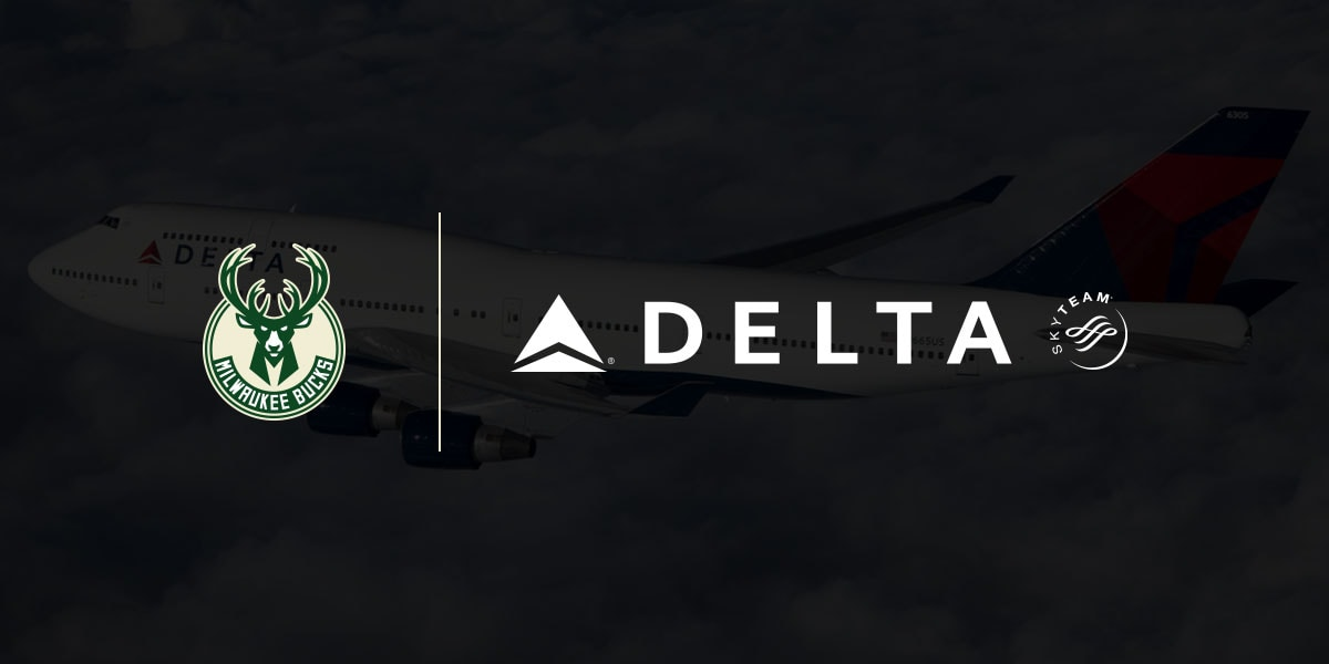 Bucks and Delta Airlines Partner to Reward Fans Wearing Bucks Gear in the Airport During Playoffs
