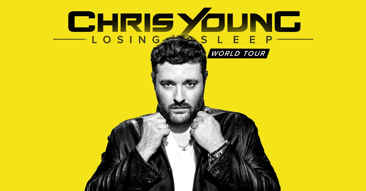 Country Singer Chris Young to Perform at Wisconsin Entertainment and Sports Center in October