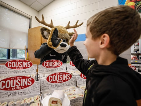 Bucks & Cousins Subs Block Out Hunger In Oshkosh