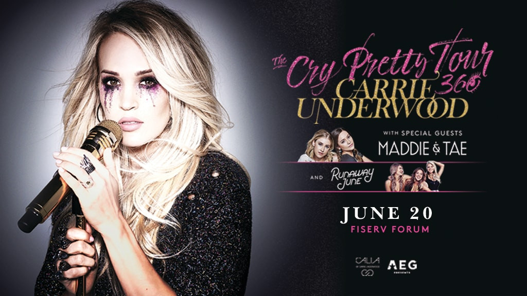 Carrie Underwood to Perform at Fiserv Forum on June 20