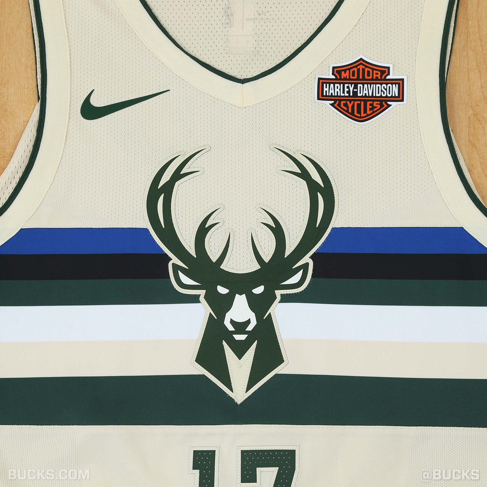 "8908a0cd8e7 The Bucks introduce their Nike ""Cream City"" City Edition uniforms"