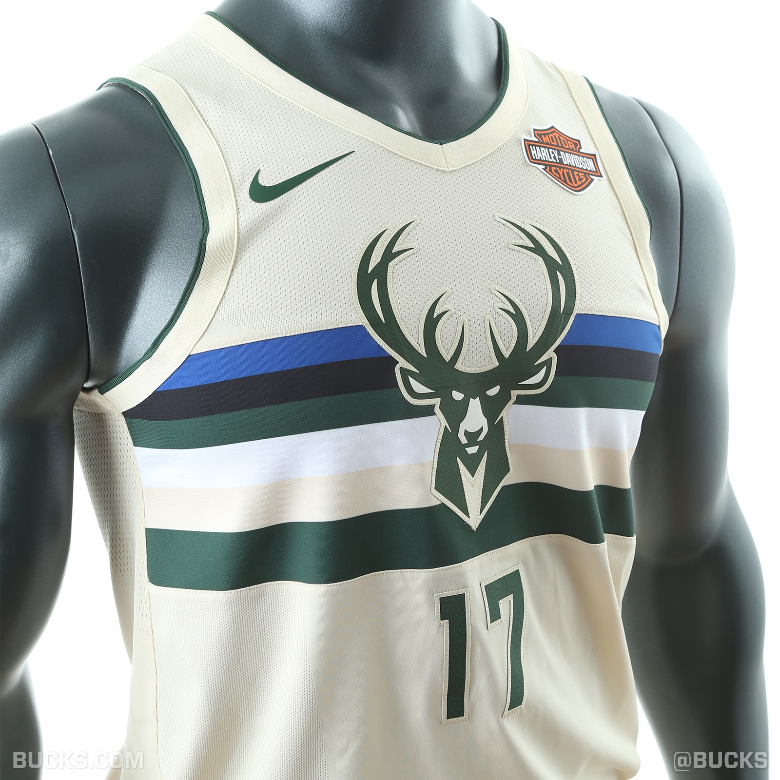"6f0e88fba The Bucks introduce their Nike ""Cream City"" City Edition uniforms"