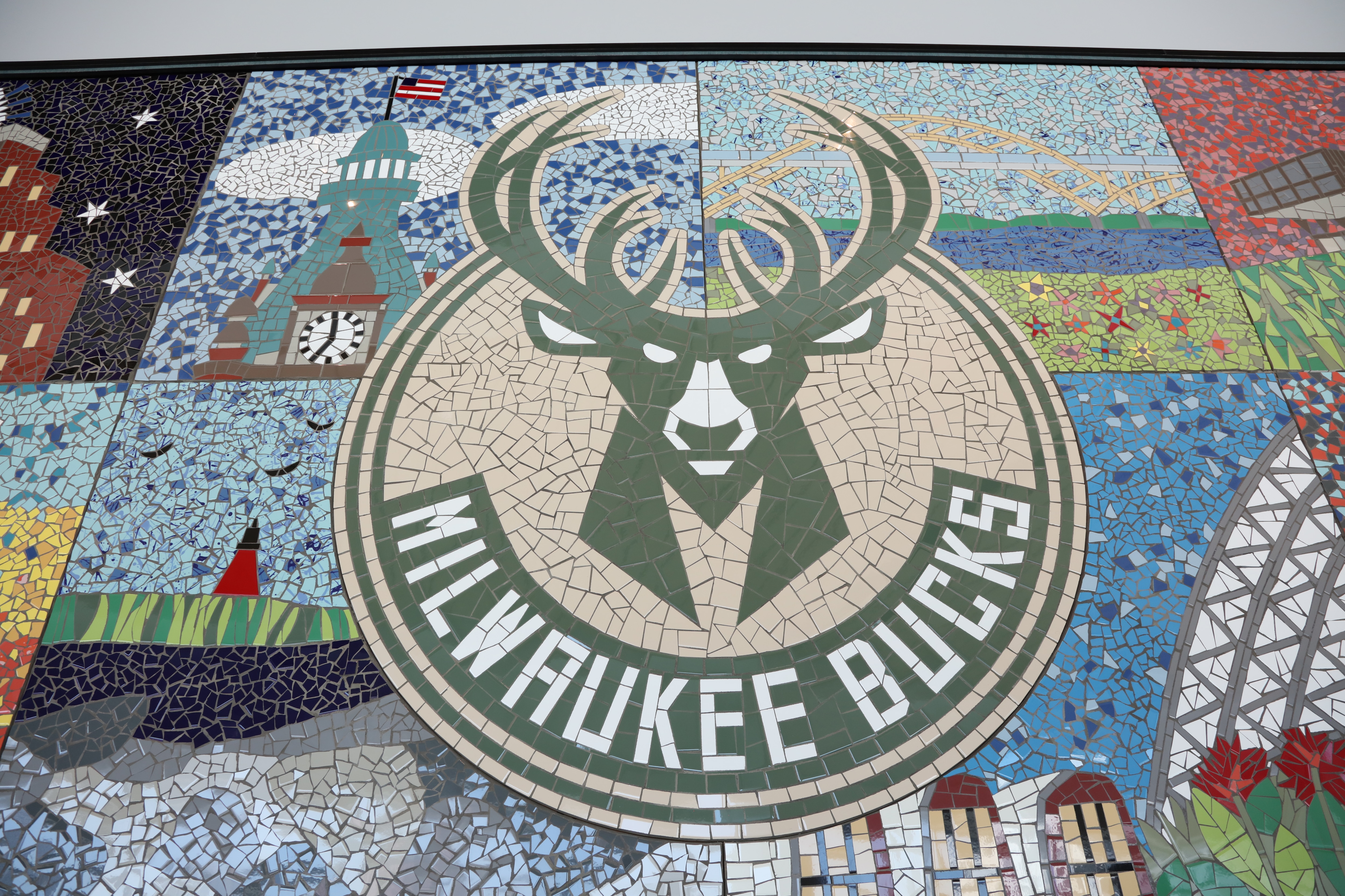 The Milwaukee Bucks Art Collection Inside Fiserv Forum