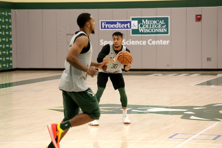 Milwaukee Bucks All Access Practice