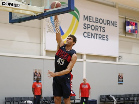 Lopez, Middleton Train With USA Basketball In Australia