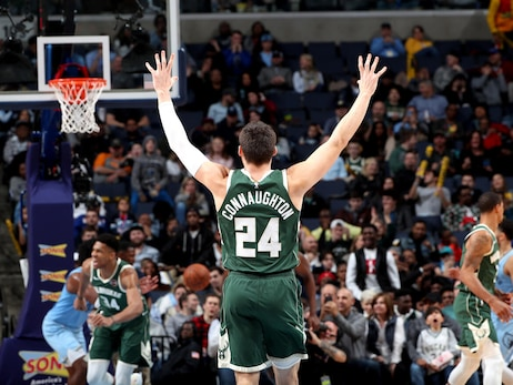 PHOTO RECAP: Bucks 127 - Grizzlies 114 | 12.13.19