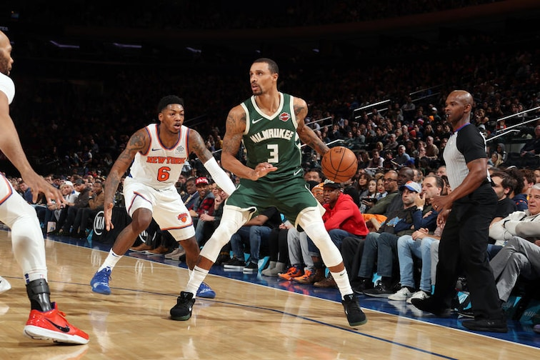 Milwaukee v New York Knicks