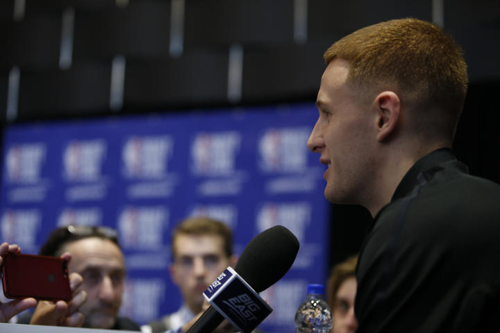 Draft Night QA with Donte DiVincenzo