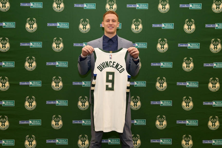 Milwaukee Bucks Introduce Donte DiVincenzo