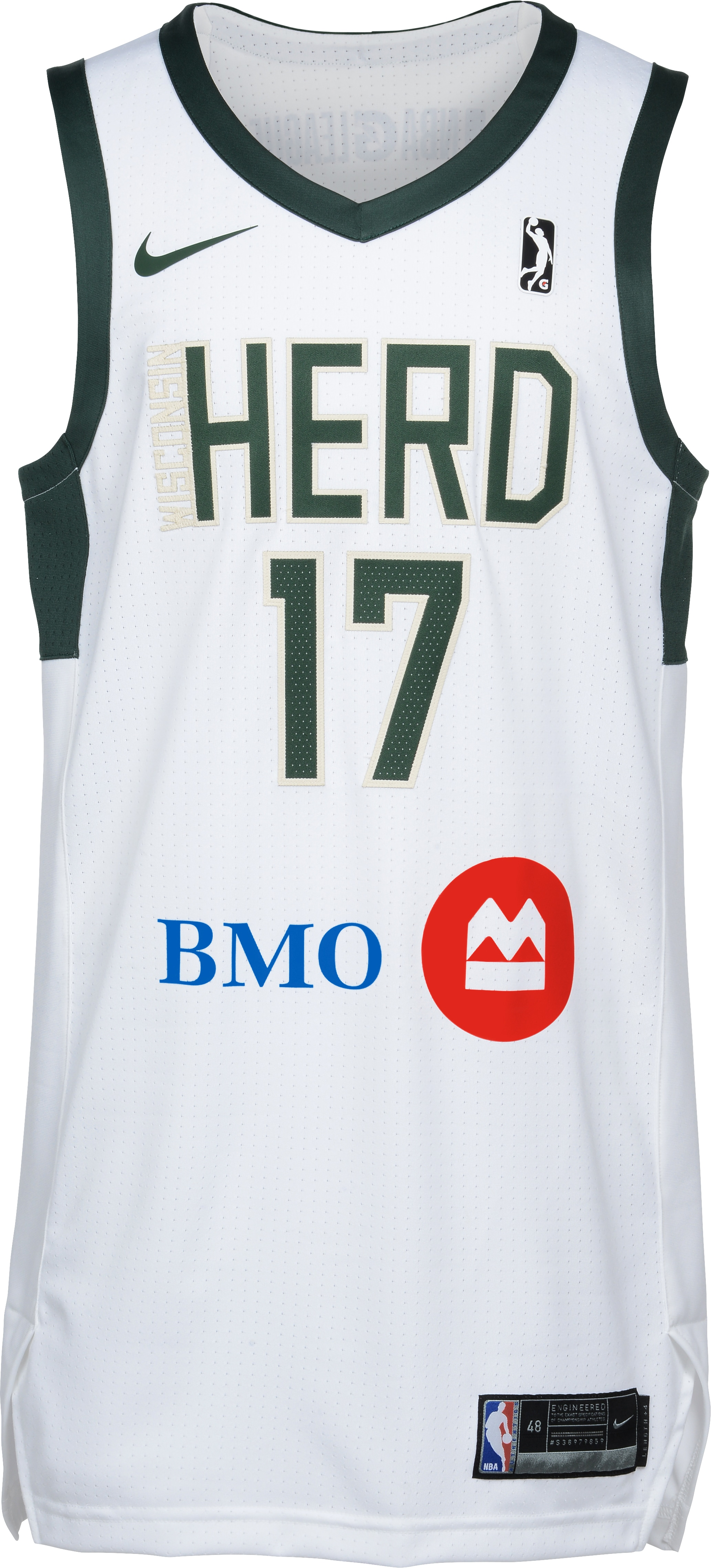 3758a87f842 The Wisconsin Herd will wear its white home uniforms on Friday