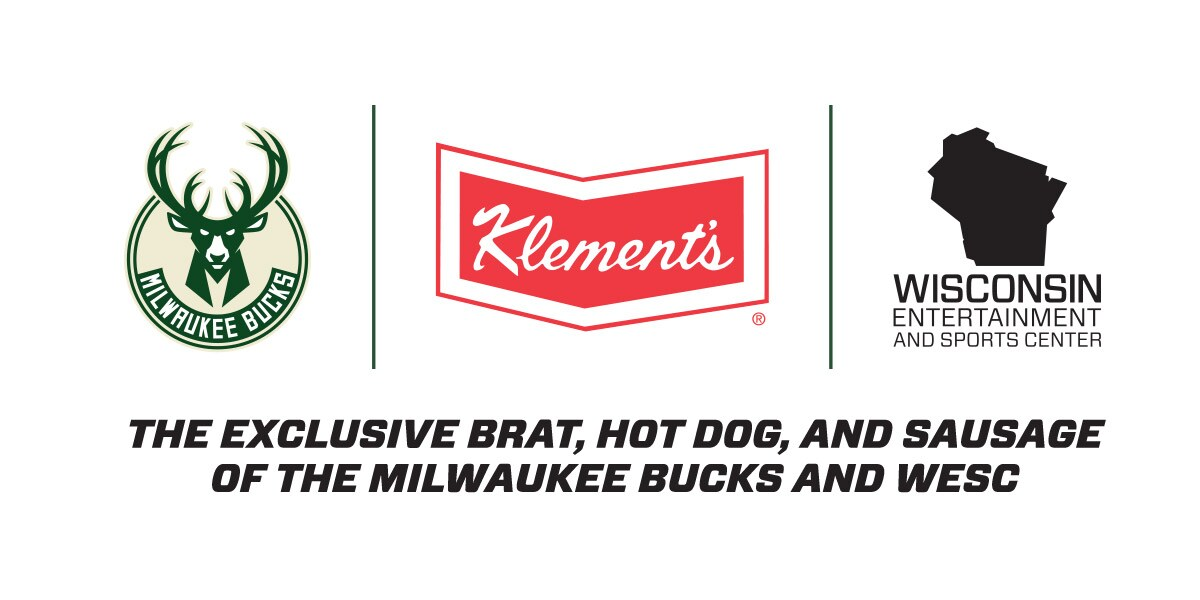 Klement's To Become Official And Exclusive Brat Hot Dog And Sausage Of The Milwaukee Bucks And The New Arena