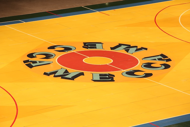 Bucks Replicate Famed Mecca Court For Return To The Mecca Game