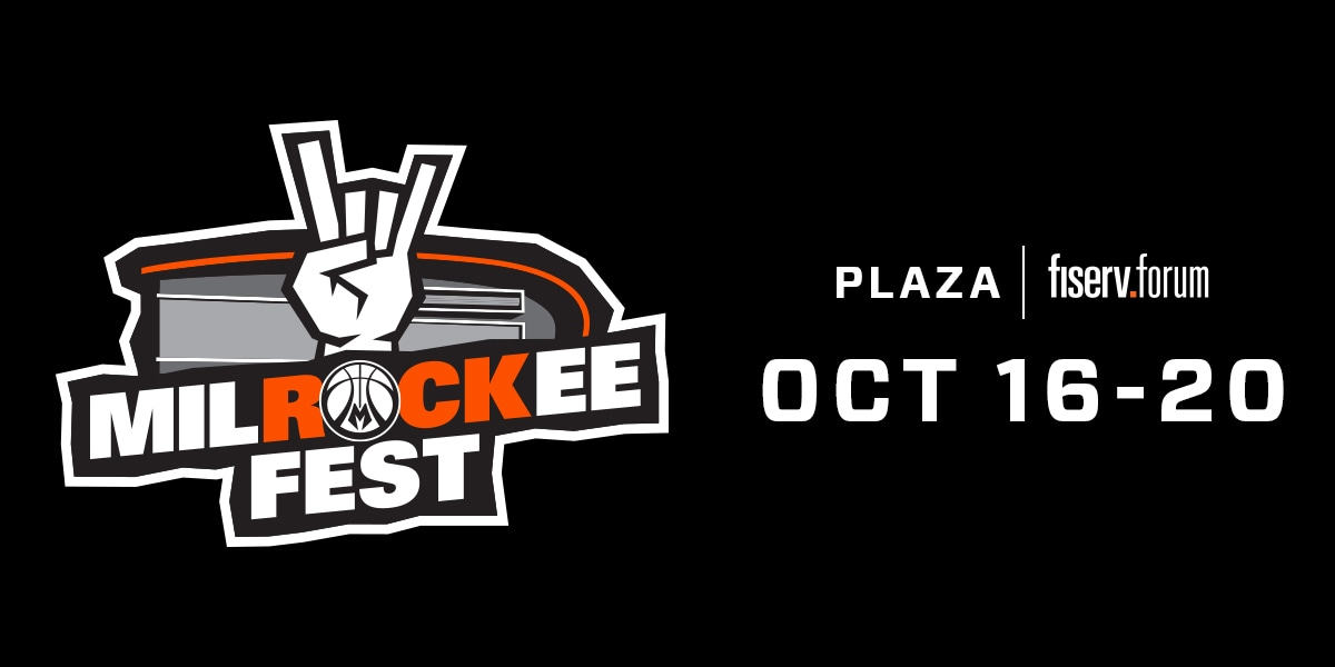 MilROCKee Fest to Take Place on Plaza Outside Fiserv Forum from Oct. 16-20