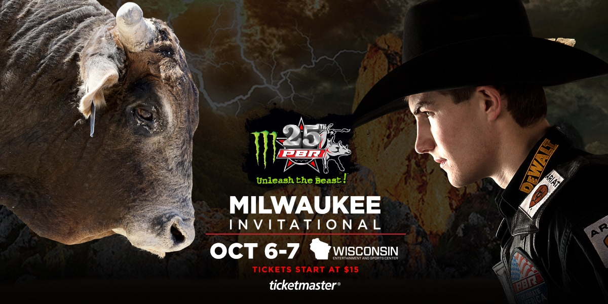 Professional Bull Riders' Milwaukee Invitational To Be Held at Wisconsin Entertainment and Sports Center in October