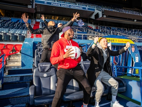 In Photos: Bucks Tour PSG's Stadium