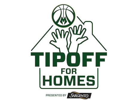 "Milwaukee Bucks and Sargento Foods ""Tipoff for Homes"" Initiative Raises $33,500 in First Season"