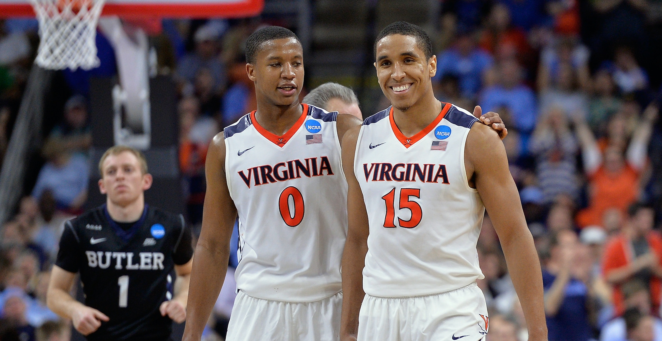 2305dd2f6c0 Malcolm Brogdon s Number 15 To Be Retired At Virginia