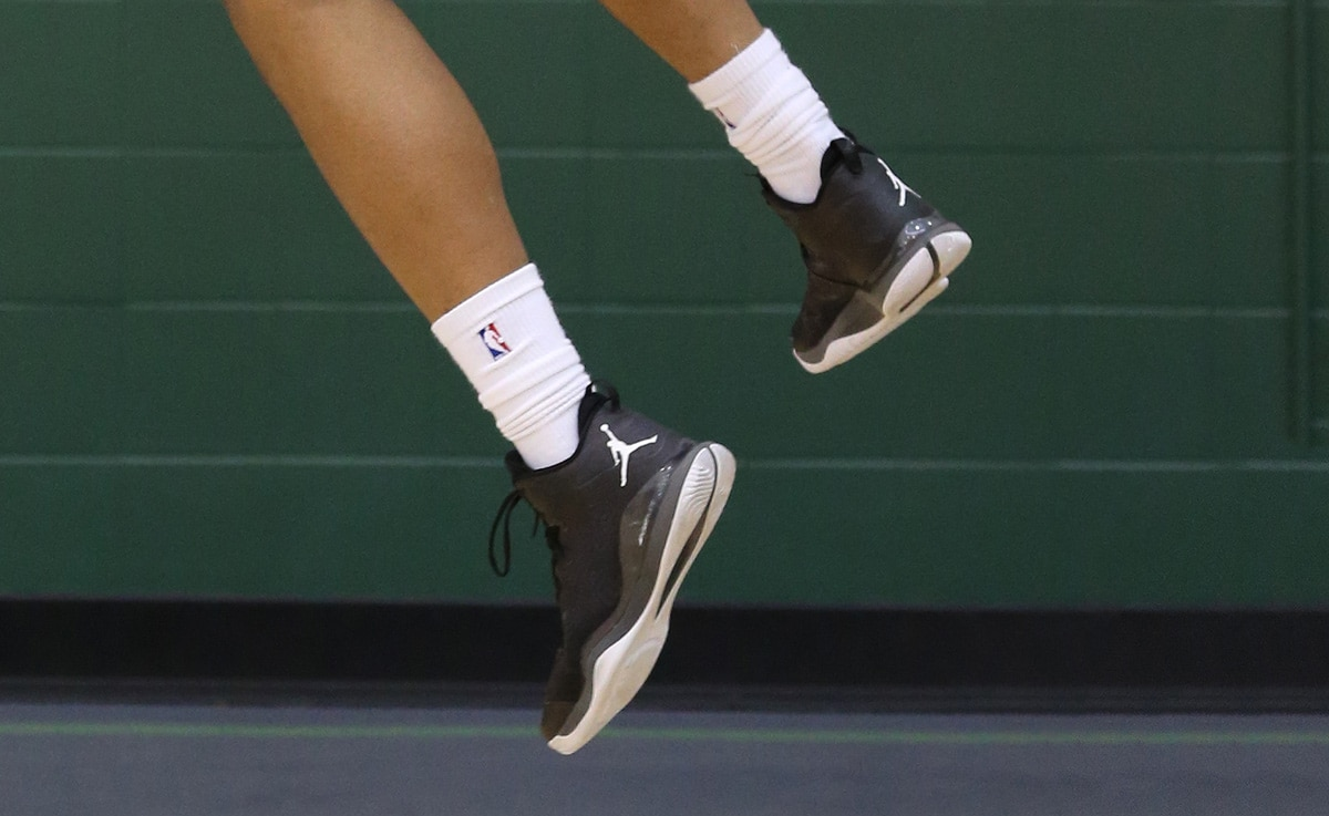 Training Camp Kicks | Milwaukee Bucks Jabari Parker Shoes