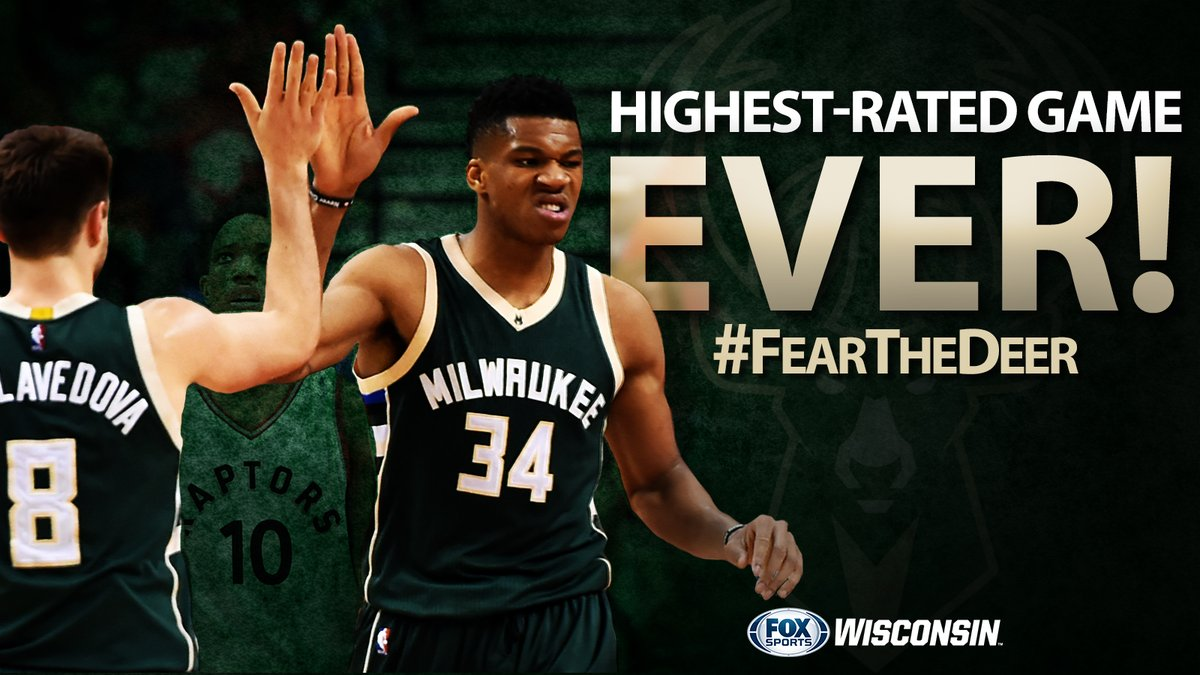 Milwaukee Bucks post highest rating ever on FOX Sports Wisconsin | Milwaukee Bucks