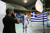 Giannis and the Greek National Team Photoshoot