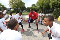 Brandon Knight's Camp - Day One - Northside YMCA
