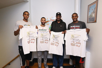 Bucks Join GE Healthcare for Community Service Day Event