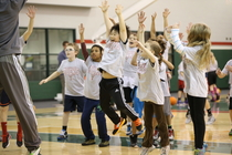 Bucks Host YMCA Clinic