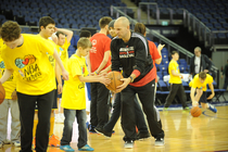 NBA Cares Clinic in London